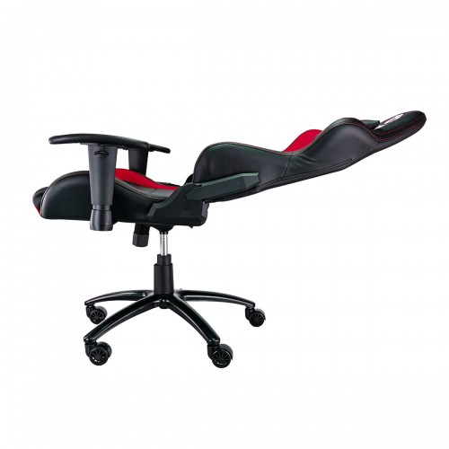 Talius silla Lizard v2 gaming negra/roja, 2D, butterfly, base metal, ruedas 60mm, gas clase 4,