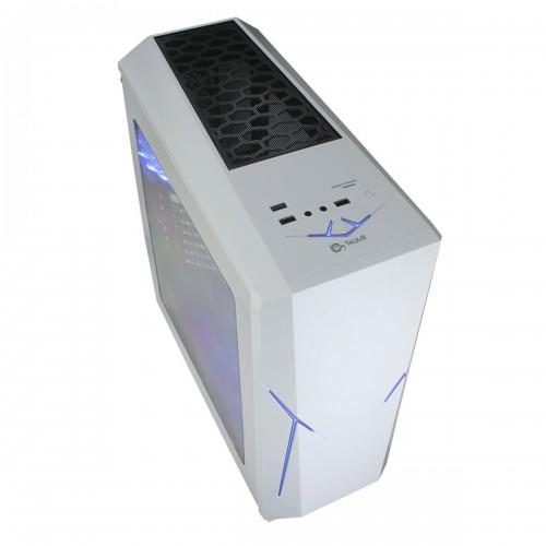 Talius caja Atx gaming Xentinel USB 3.0 sin fuente blanco