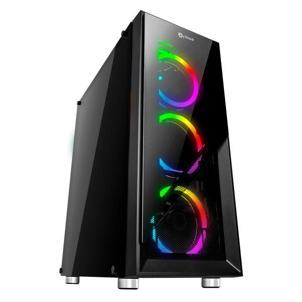 Talius caja ATX gaming Valkyria led RGB USB 3.0