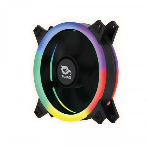 Talius ventilador caja FAN04 Spectrum doble aro retail 12cm