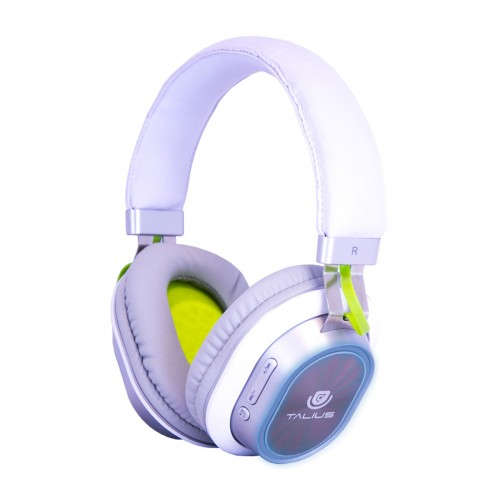 Talius auricular TAL-HPH-5004BT bluetooth led blanco