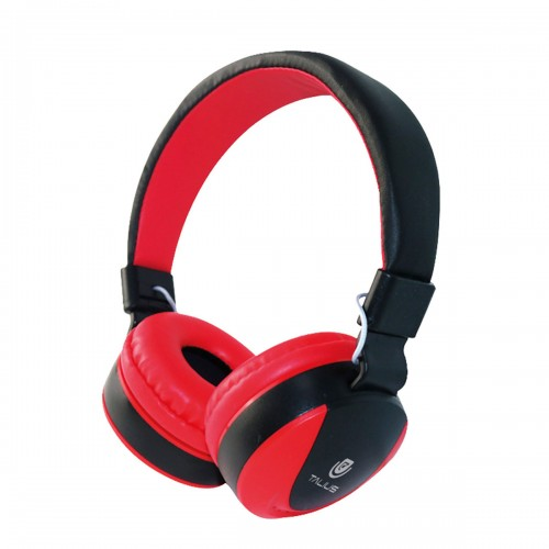 Talius auricular TAL-HPH-5005 con microfono rojo