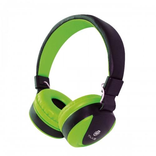 Talius auricular TAL-HPH-5005 con microfono verde