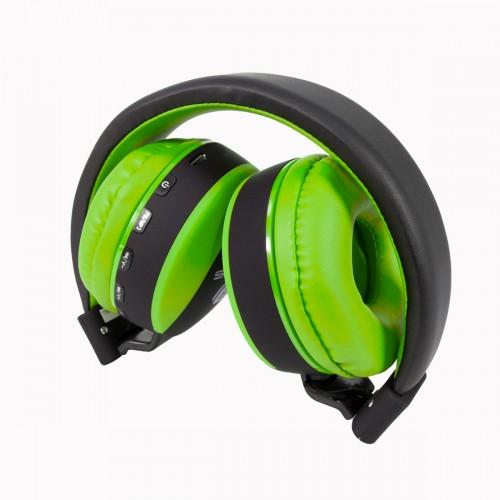 Talius auricular TAL-HPH-5006BT FM/SD bluetooth verde