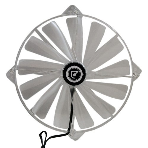 Talius ventilador caja 4 led FAN-02 20cm red