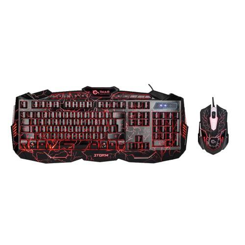 Talius teclado + raton gaming Storm USB black