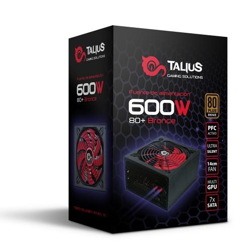 Talius fuente alimentacion 600w 80+ bronze