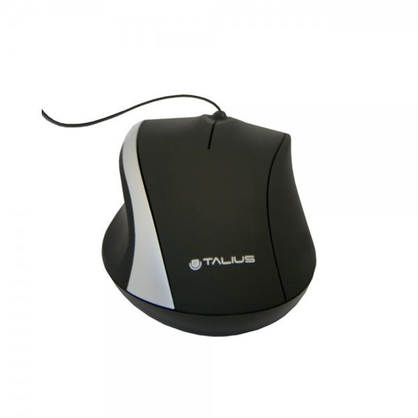 Ratón 491-S óptico USB black
