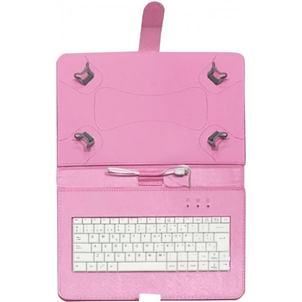 Funda con teclado para tablet 10 pulgadas talius - Fundas con teclado para tablet ...