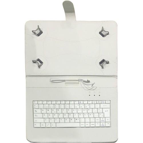 "Talius funda con teclado para tablet 10"" CV-3006 white"