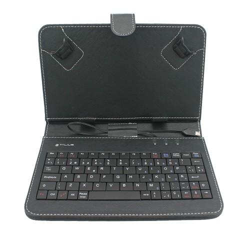 """Talius funda con teclado para tablet 7"""" CV-3003 black"""