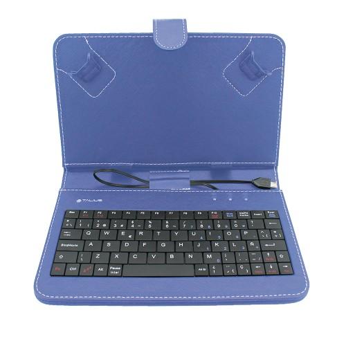 """Talius funda con teclado para tablet 7"""" CV-3003 blue"""