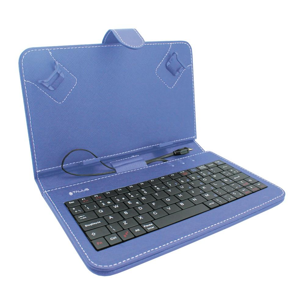 Funda tablet 7 con teclado azul - Fundas con teclado para tablet ...