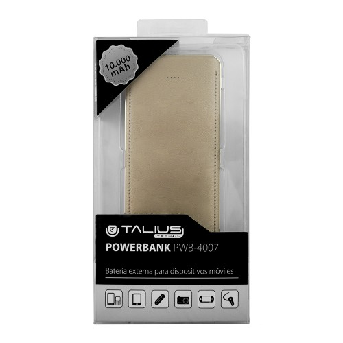Talius bateria powerbank 10000mAh TAL-PWB4007 gold