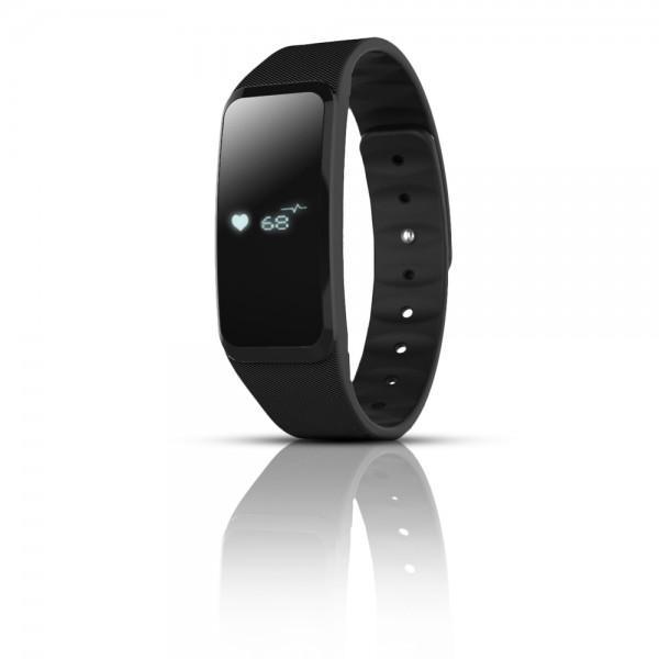 Talius smartband SMB-1001 con pulsometro black