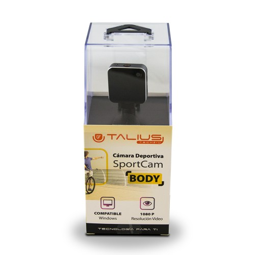 Talius sportcam body 1080P wifi Black