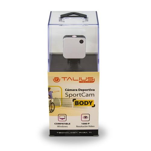 Talius sportcam body 1080P wifi white