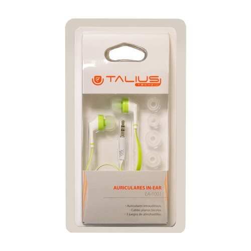 Talius intrauricular EA-1001 green / white