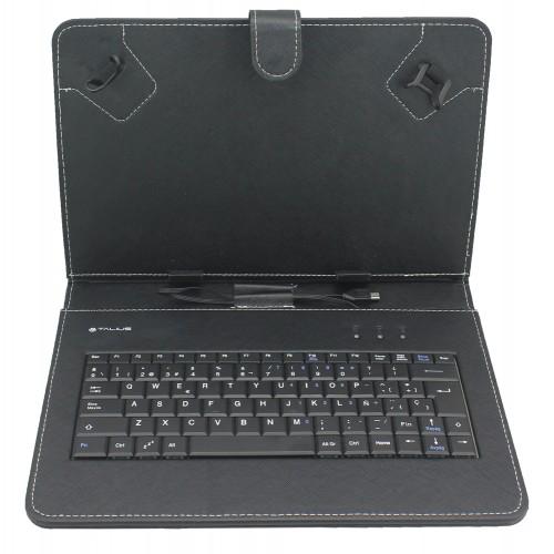 """Talius funda con teclado para tablet 10"""" CV-3004 black"""