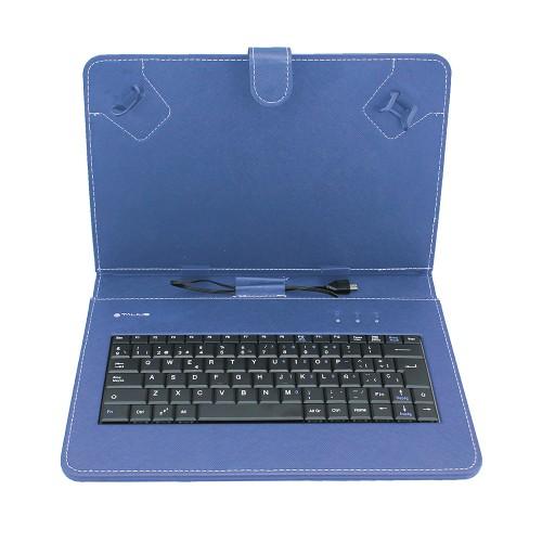 """Talius funda con teclado para tablet 10"""" CV-3004 blue"""