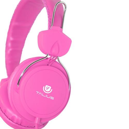 Talius auricular HPH-5002 con microfono pink