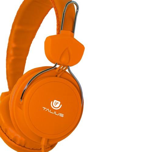 Talius auricular HPH-5002 con microfono yellow