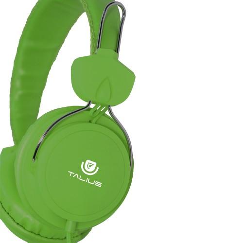 Talius auricular HPH-5002 con microfono green