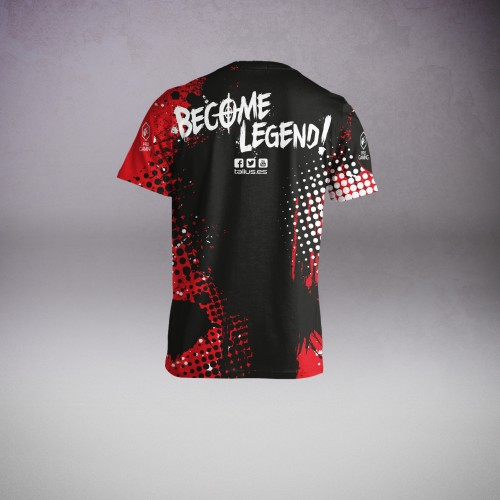 Talius Camiseta Técnica Sport Gaming Solution T.XXL