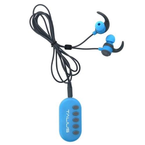 Talius intrauricular sport+adap. FM/mSD TAL-EA1006BT bluetooth JL blue