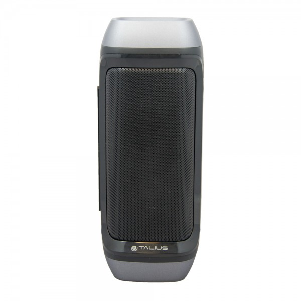 Talius altavoz 28BT 10W Bluetooth, radio FM, con powerbank 4000 mAh black