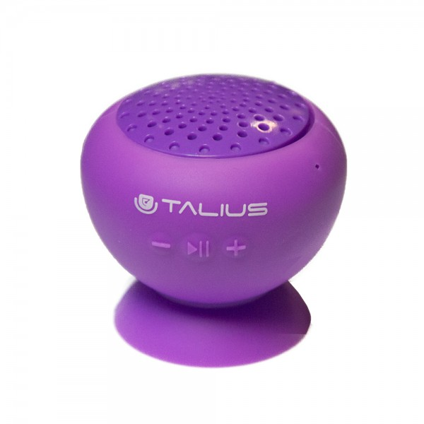 Talius altavoz W1 silicona bluetooth purple