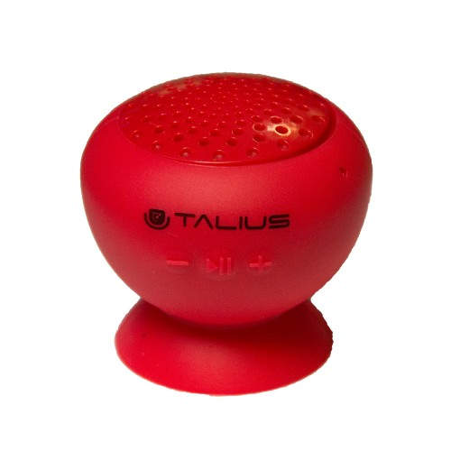 Talius altavoz W1 silicona bluetooth red