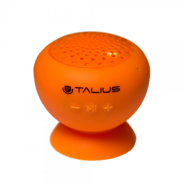 Talius altavoz W1 silicona bluetooth orange