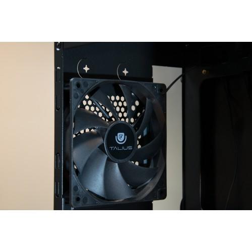 Talius ventilador caja FAN-01 12cm black (Reacondicionado)