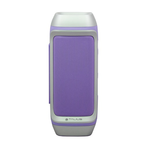 Talius altavoz 28BT 10W Bluetooth, radio FM, con powerbank 4000 mAh purple (Reacondicionado)