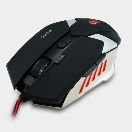 Talius raton gaming Sukhoi 2500DPI 8 botones black