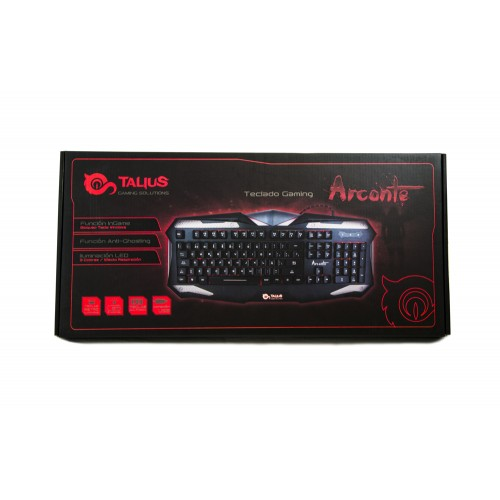 Talius teclado gaming Arconte USB black