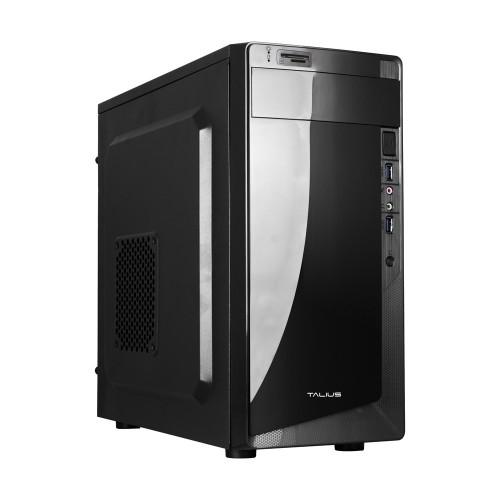 Talius caja micro-Atx Denver 500w USB 3.0 + lector tarjetas black (Reacondicionado)