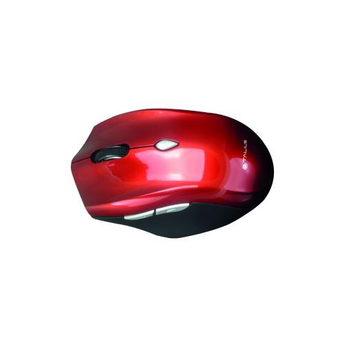 Ratón 201 WiFi USB color rojo