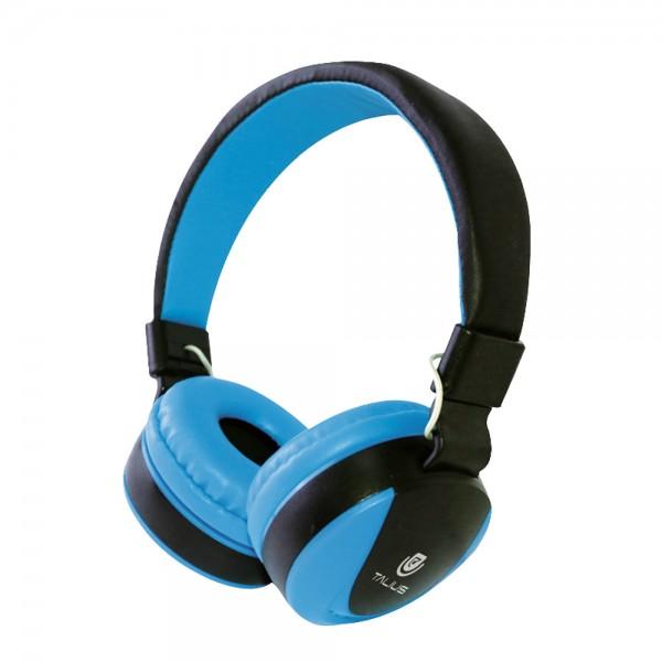 Talius auricular TAL-HPH-5005 con microfono blue
