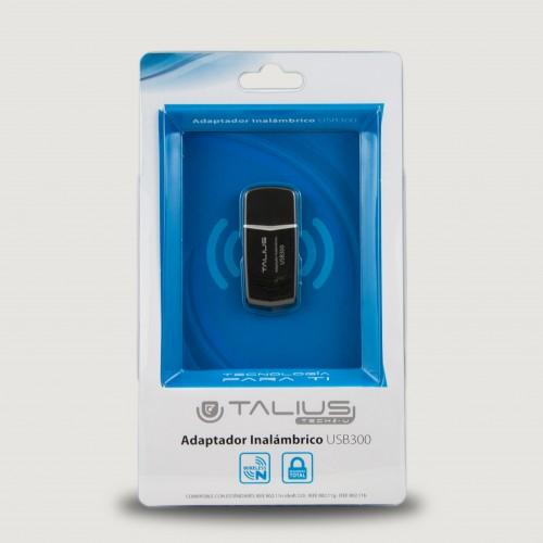 Talius red usb wireless 300Mbps USB300