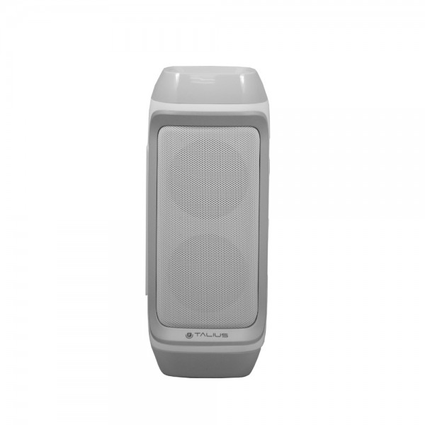 Talius altavoz 28BT 10W Bluetooth, radio FM, con powerbank 4000 mAh white