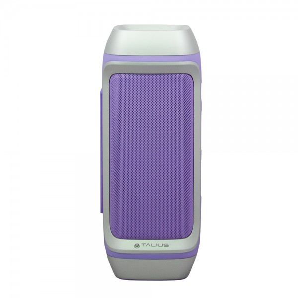 Talius altavoz 28BT 10W Bluetooth, radio FM, con powerbank 4000 mAh purple