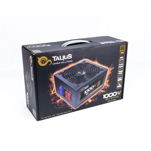 Talius fuente alimentacion 1000w 80+ bronze modular