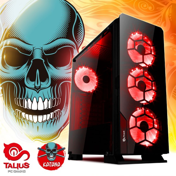 Talius PC Katana - Intel core I5 8400, 8Gb DDR4, 240Gb SSD, GTX1050 4GB