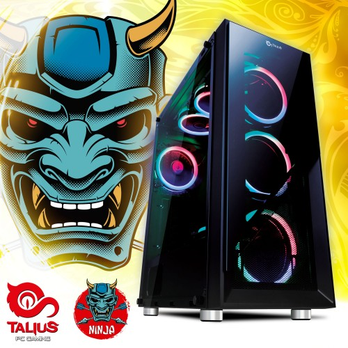 Talius PC Ninja - Intel core I5 9600K, 16Gb DDR4, 240Gb SSD, 1Tb, GTX1060 6Gb