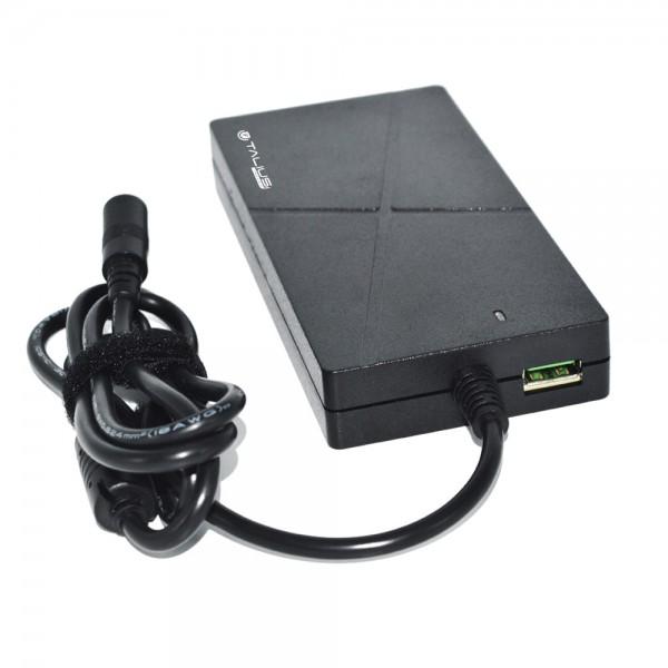 Talius transformador universal PWA-4009 90W automatico con carga rapida USB QC 3.0