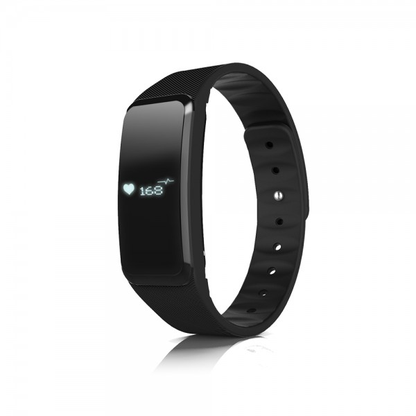 Talius smartband SMB-1002 con pulsometro IP67 black