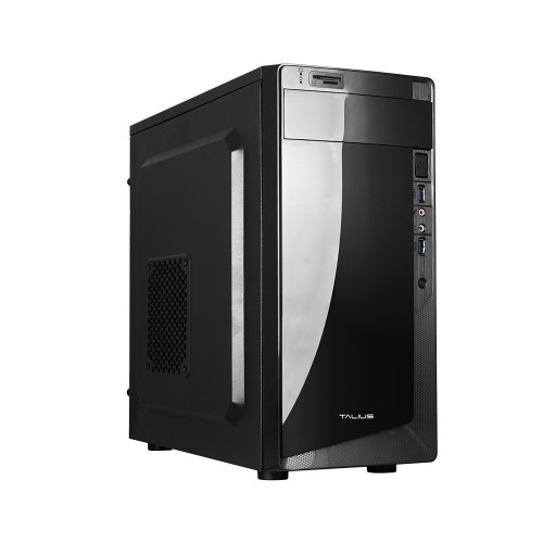 Talius caja micro-Atx Denver negra 500w USB 3.0 CON lector tarjetas