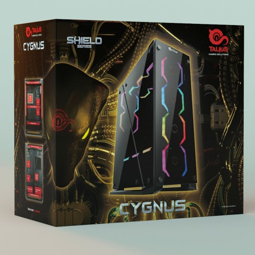 Talius PC Bushido - Intel core I7 9700K, 16Gb DDR4, 500Gb SSD, 3Tb, RTX 2070 8Gb